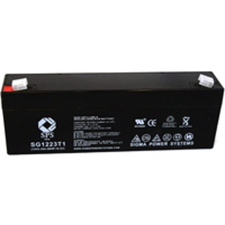 Sps Brand 12V 2 3 Ah Replacement Battery  For Micro Medical Devices 25 Transpacer  1 Pack