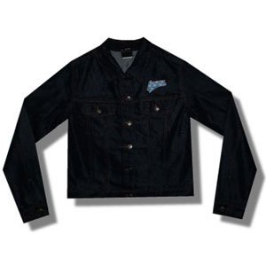 Lenny Kravitz Mens  Logo Jacket Blue
