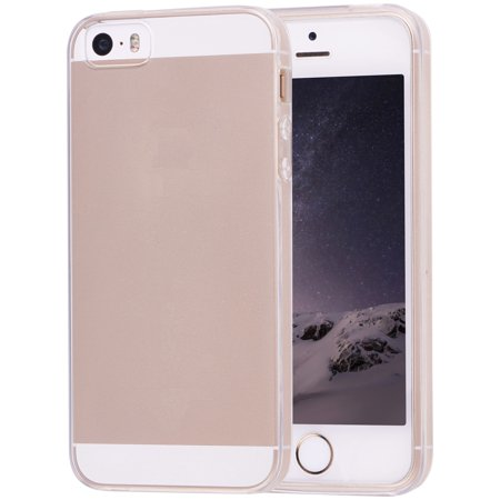 low priced c36e5 c84e4 Onn Lightweight Slim Protective Case for iPhone 5/5S/SE, Clear