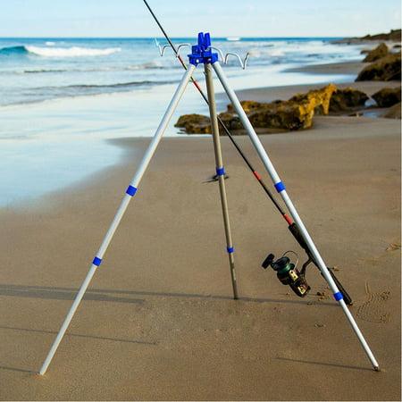 Fishing Rod Holder Tripod,Bank Fishing on Lakes and Streams Holder Tripod ()