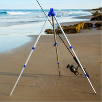 Fishing Rod Holder Tripod,Bank Fishing on Lakes and Streams Holder Tripod