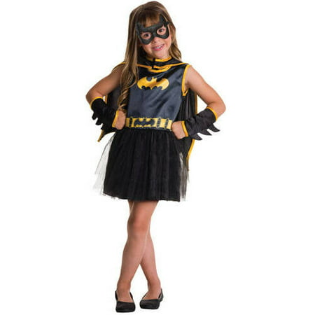 Batgirl Child Tutu Dress Halloween - Batgirl Kids Costume