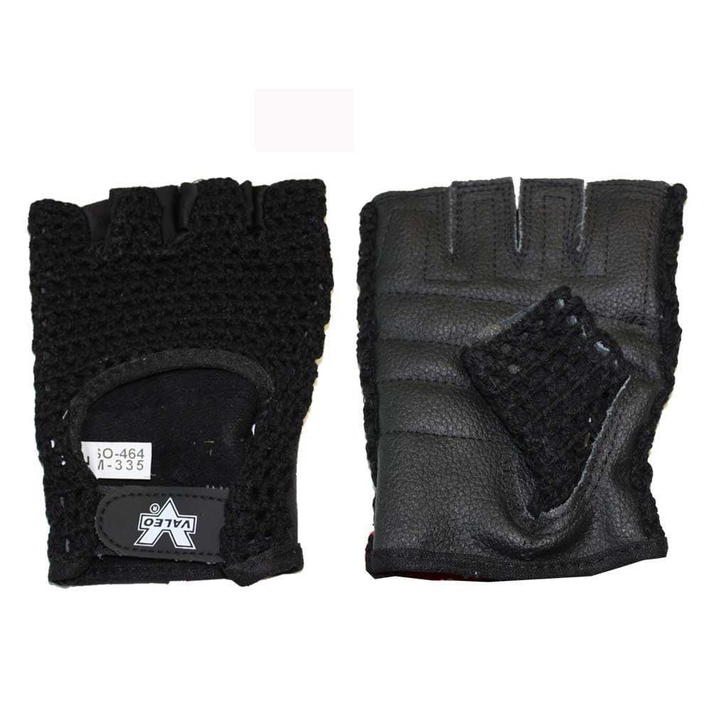 Valeo Meshback Lifting Glove, Black