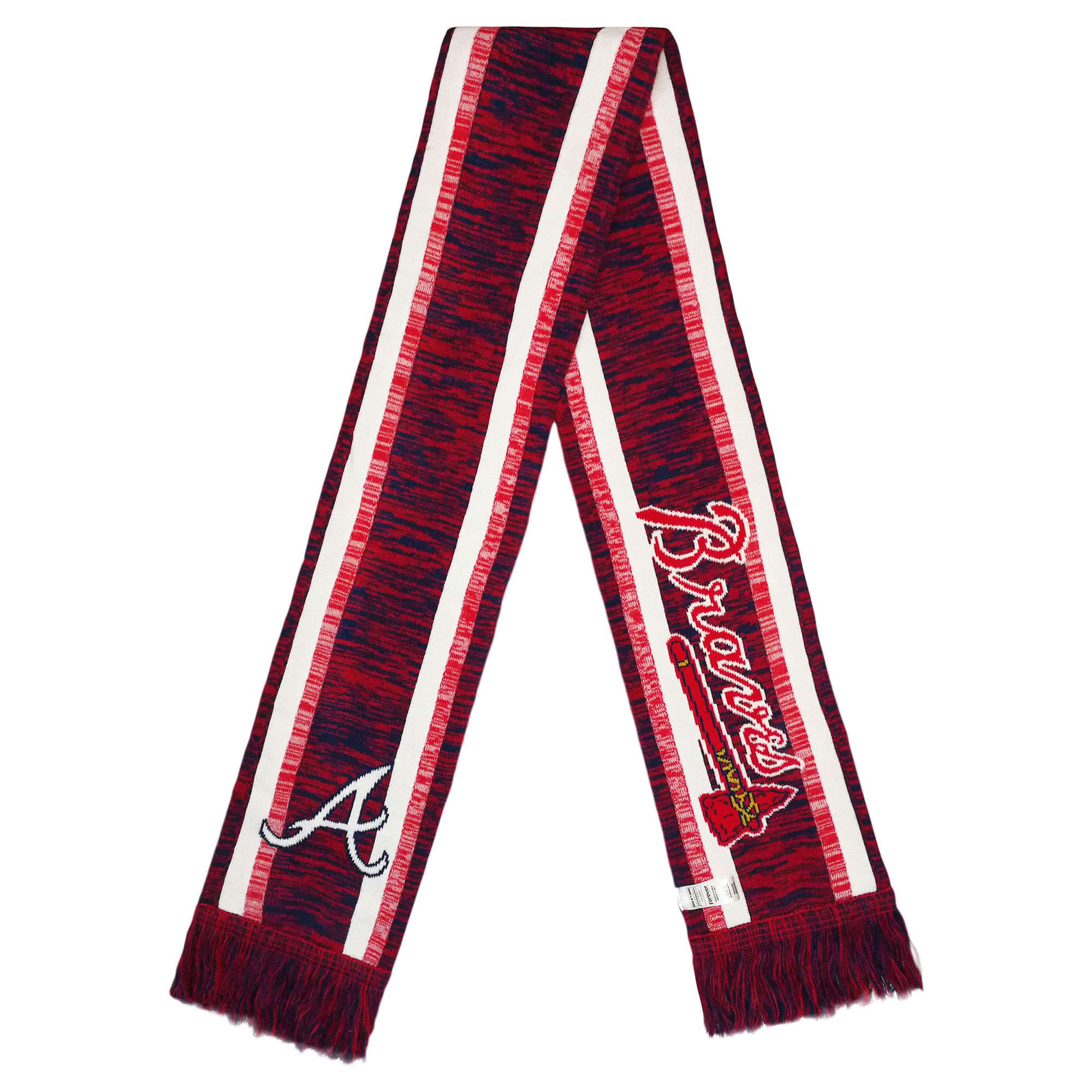Atlanta Braves Knit Color Blend Scarf - No Size