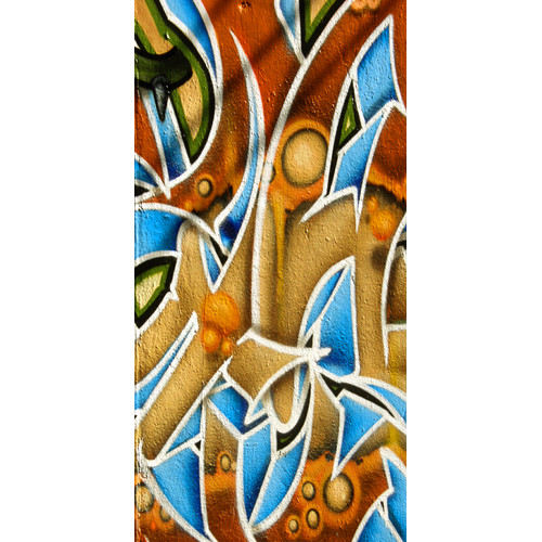 Graffitee Studios Graffiti Abstract Graphic Art on Wrapped Canvas