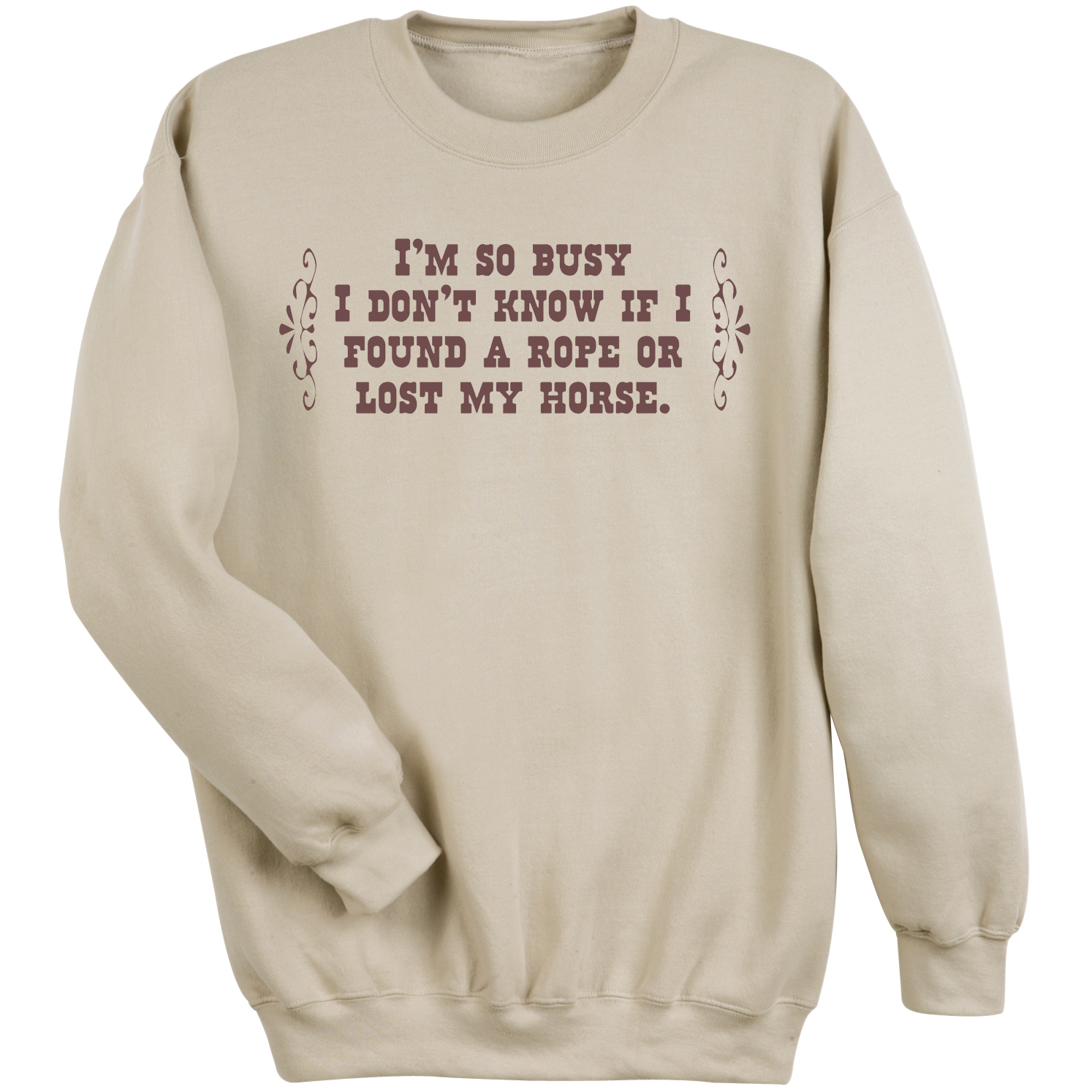 Women's I'm So Busy Sweatshirt