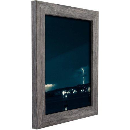 Craig Frames Bauhaus Modern Gray Picture Frame ()