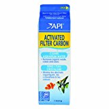 API Activated Filter Carbon Fish Organic Waste Removal, 1 Qt