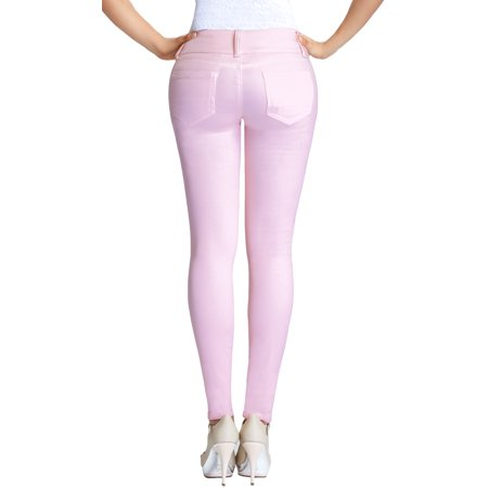 9c7cbcb79 Lowla - Jean Levanta Cola Colombiano Lowla 217988 Butt Lifter Jeans With  Removable Pads - Walmart.com