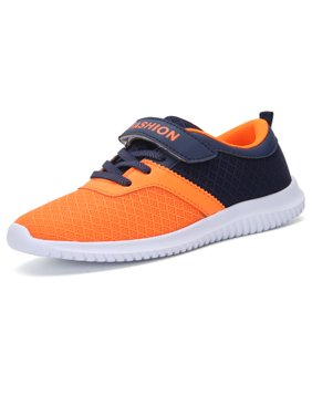 Sneaker Shoes for Girls Boy Kids Breathable Mesh Light Weight Athletic Running Walking Casual Shoes