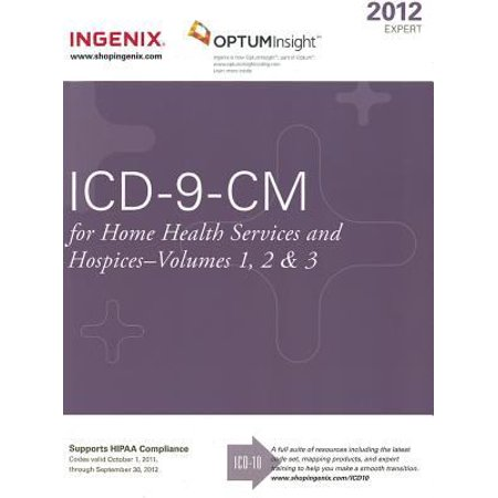 icd9cm expert for home health 2012 volumes 1 2 3