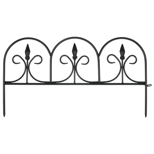 Emsco Group 2083 Small Victorian Ornamental Gate Fencing - Case of 24