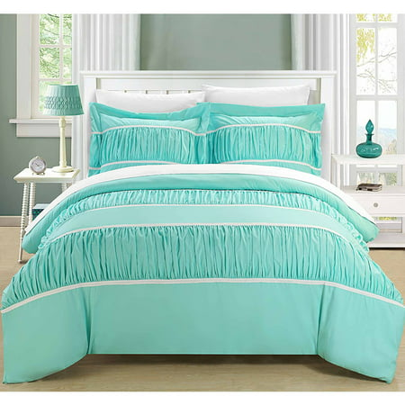 Chic Home Elizabeth 7 Piece Ruffled Duvet Cover Set ()