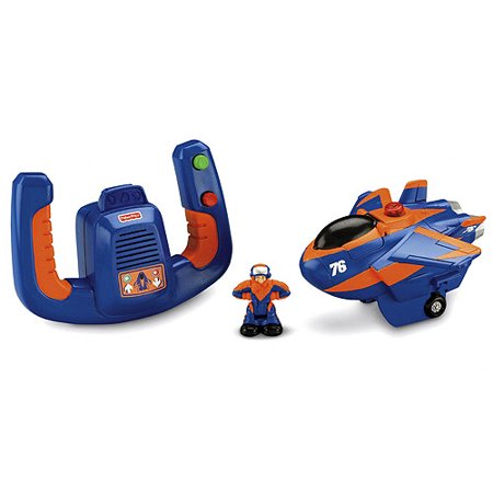 Geotrax Lights - Fisher-Price GeoTrax Transportation System GeoAir Remote-Control Jet-Plane
