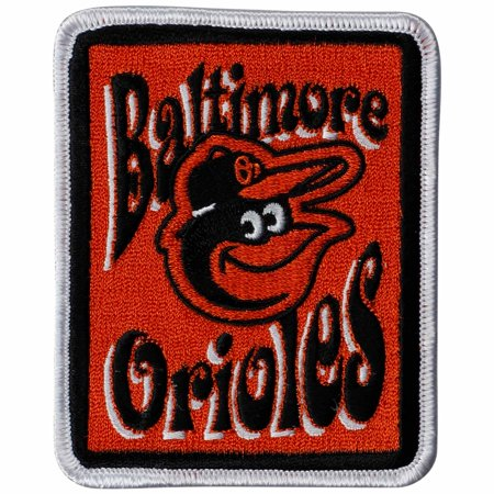 Baltimore Orioles Groovy Patch - No Size