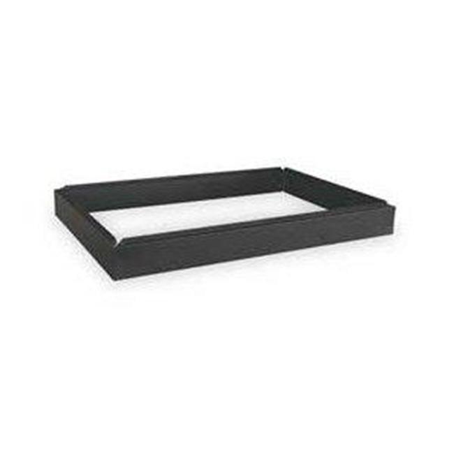 Alvin 4997B 6'' Safco Steel Flat File Closed Base - Black