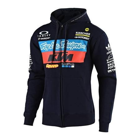 Troy Lee Designs 2019 TLD KTM Team Zip-Up Fleece - Navy