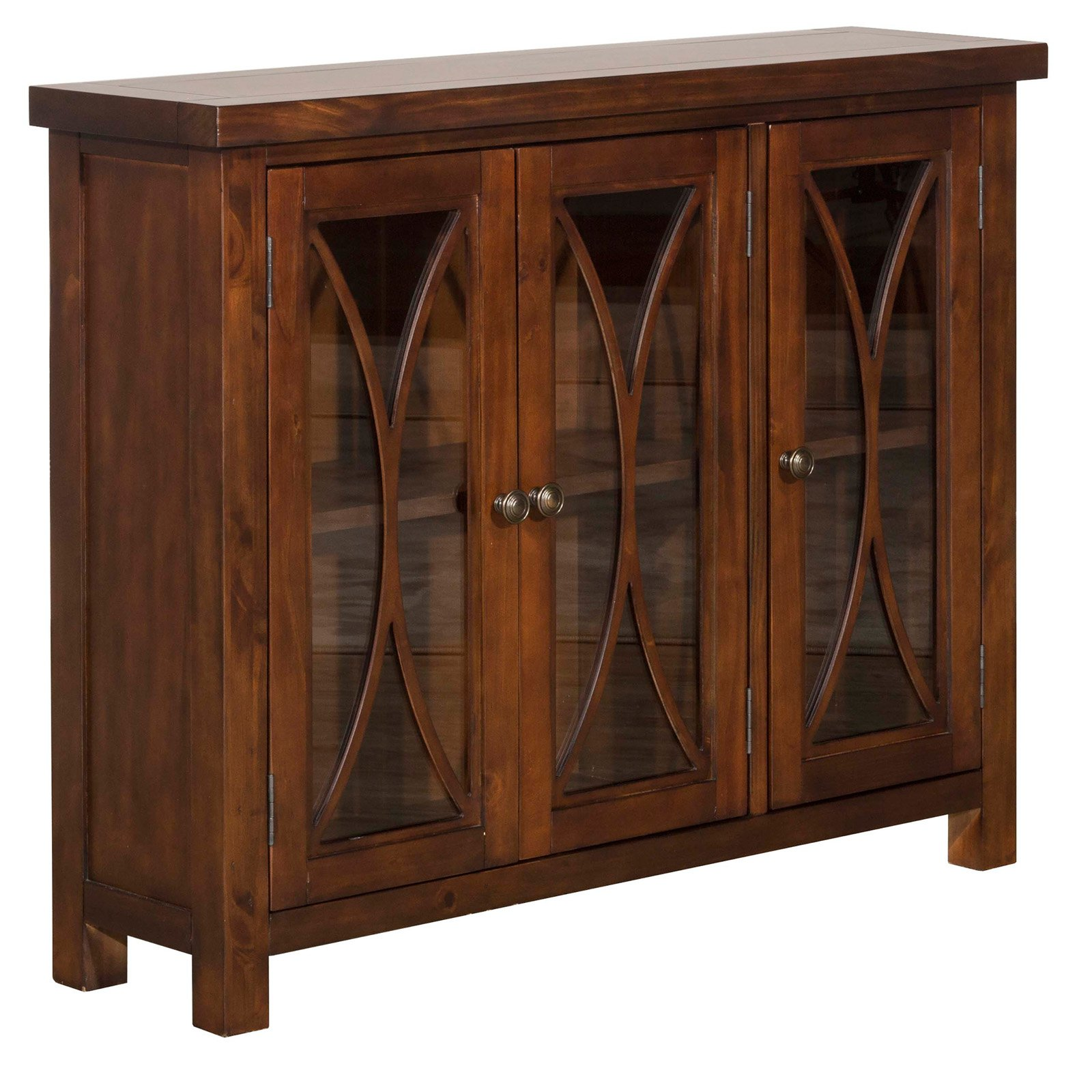 Hillsdale Furniture Bayside Three (3) Door Cabinet, Multiple Finishes by Hillsdale Furniture