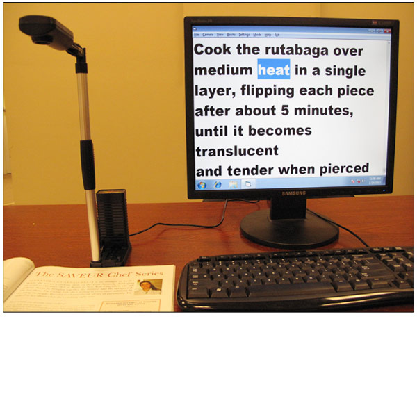 RAVE II Text-to-Speech Reading Machine-Magnifier