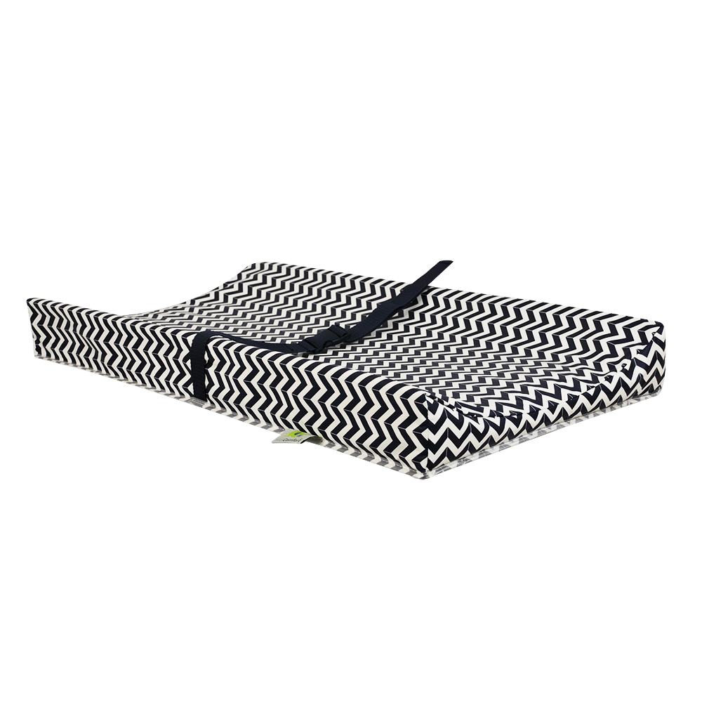 Kidilove Geomatrical Changing Pad - Chevron Navy