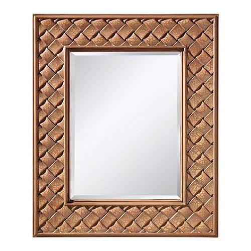 Murray Feiss MR1169BCC Crisfield Rectangular Mirror, Buttercream by Murray Feiss