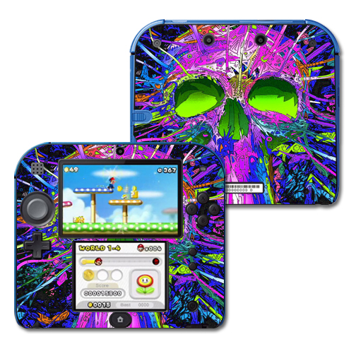 Mightyskins Protective Vinyl Skin Decal Cover for Nintendo 2DS wrap sticker skins Hard Wired