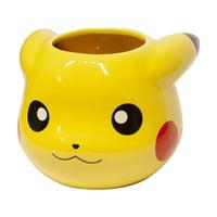 Collectible Pokemon Pikachu 16oz 3D Sculpted Mug