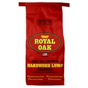Royal Oak Lump Charcoal, All Natural Hardwood Charcoal, 15.4 Lbs