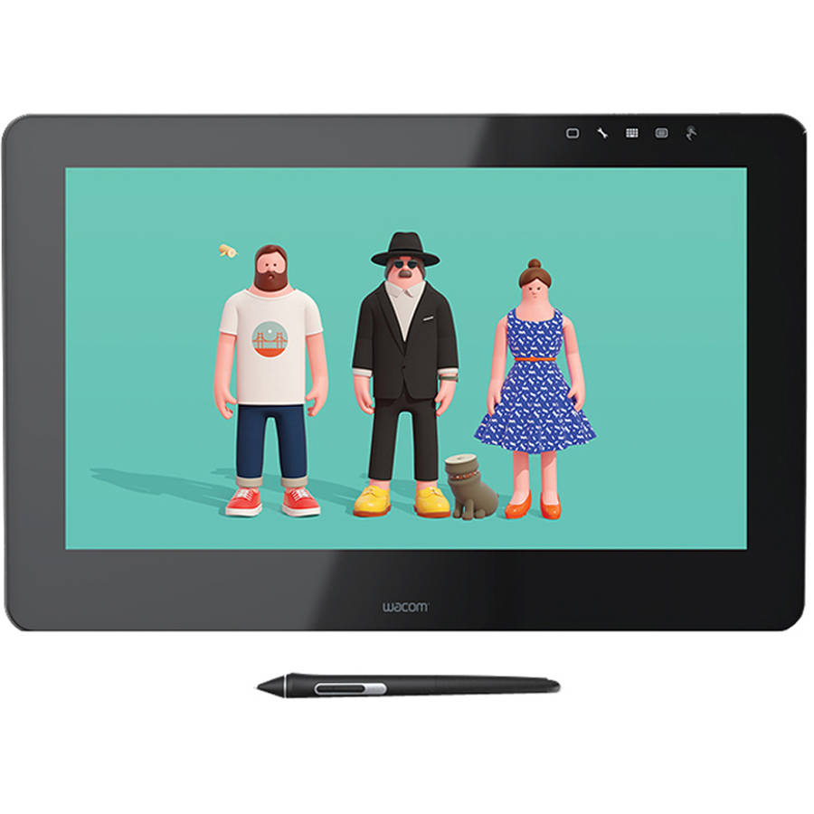 "Wacom CINTIQ PRO 16"" Creative Pen & Touch Display (DTH1620K0)"