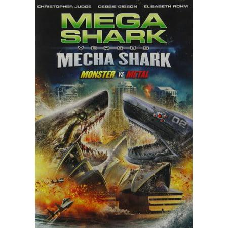 Mega Shark Vs Mecha Shark (DVD)](Funny Shark Movies)