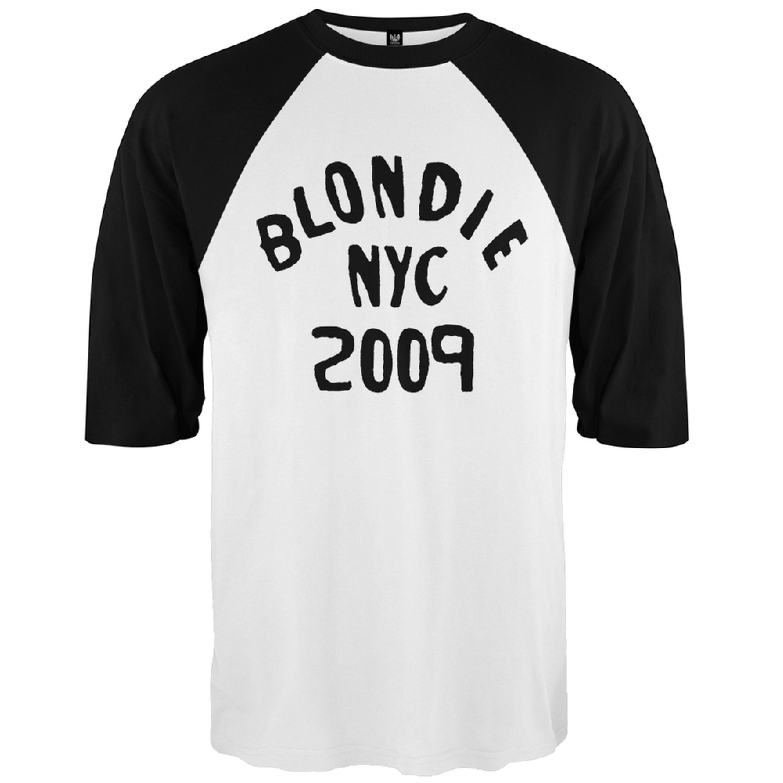 Blondie - NYC 2009 3/4 Sleeve