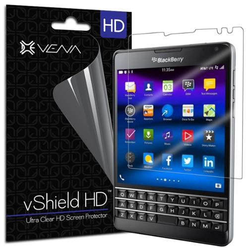 BlackBerry Passport Screen Protector - Vena vShield [Ultra Clear HD] Anti-Scratch for BlackBerry Passport (3 Pack)