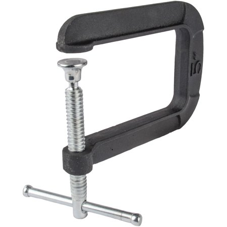 Deep C-clamp (JEGS Performance Products W3981 Deep Throat C-Clamp 2-3/4 Overall Clamping 5 Thr )
