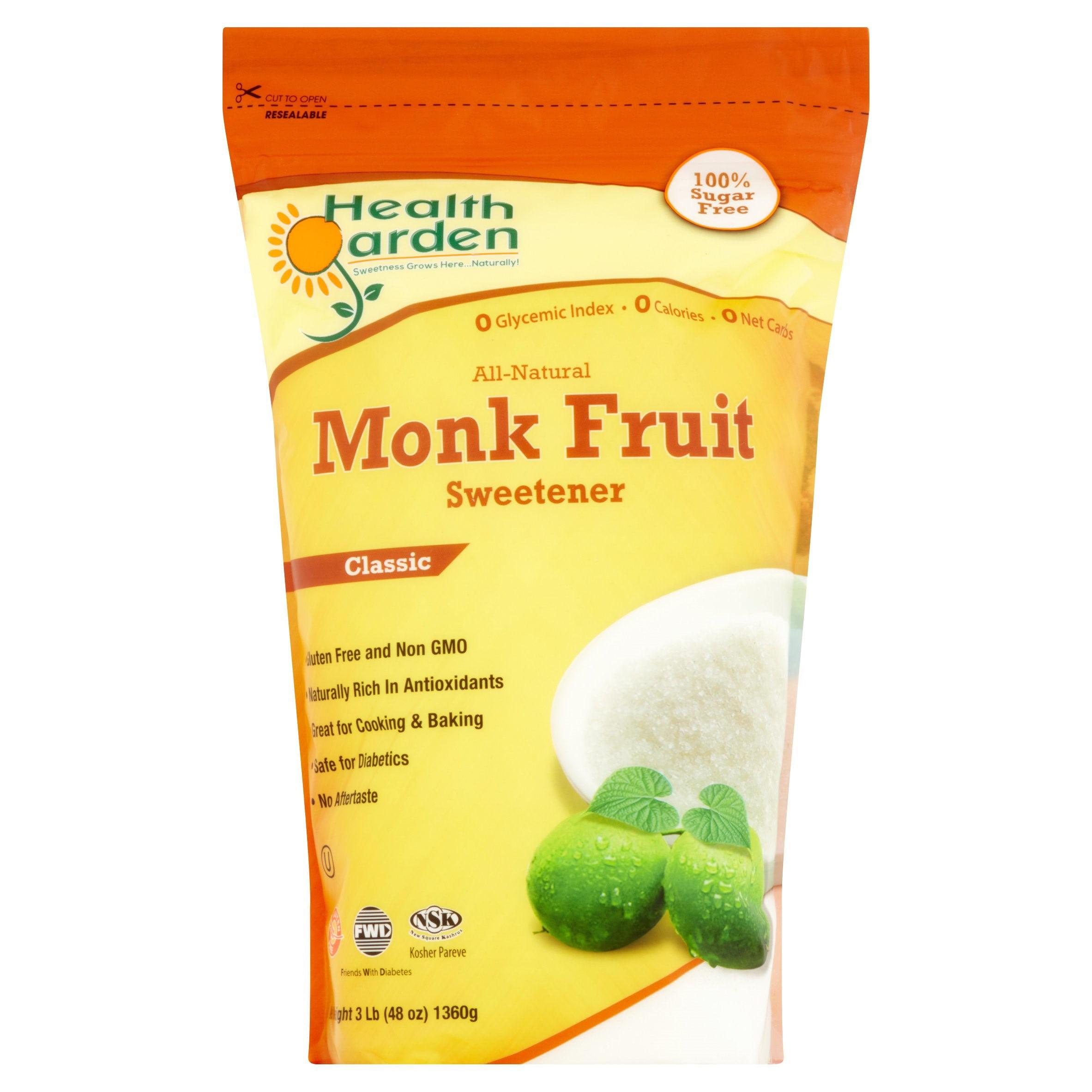 Monk Fruit Classic Sweetener 3 lb