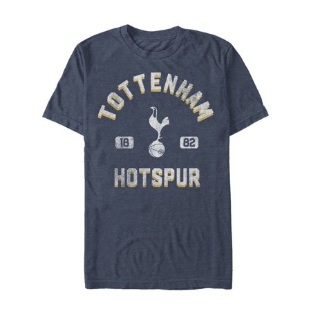 Football Graphic Tee (Tottenham Hotspur Football Club Distressed Bird Logo Mens Graphic T)