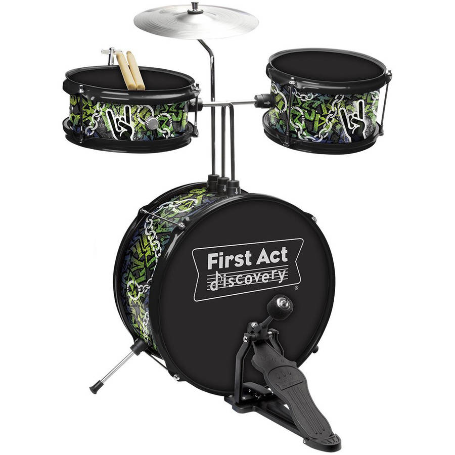 First Act Discovery Rock N Roll Designer Drum Set FD3718 by First Act