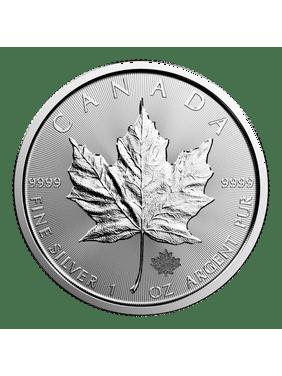 Canadian Silver Maple Leaf 1 oz Coin