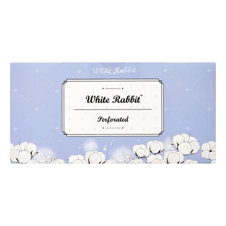 White Rabbit Premium Cotton Pad - Perforated (200