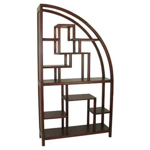 Wayborn Curved Modular Bookcase