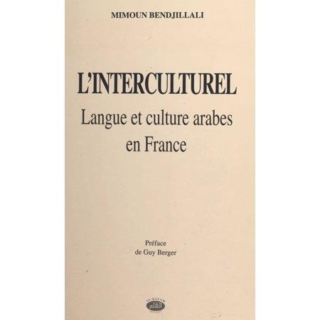 L'Interculturel : langue et culture arabes en France - eBook - Adult Arab