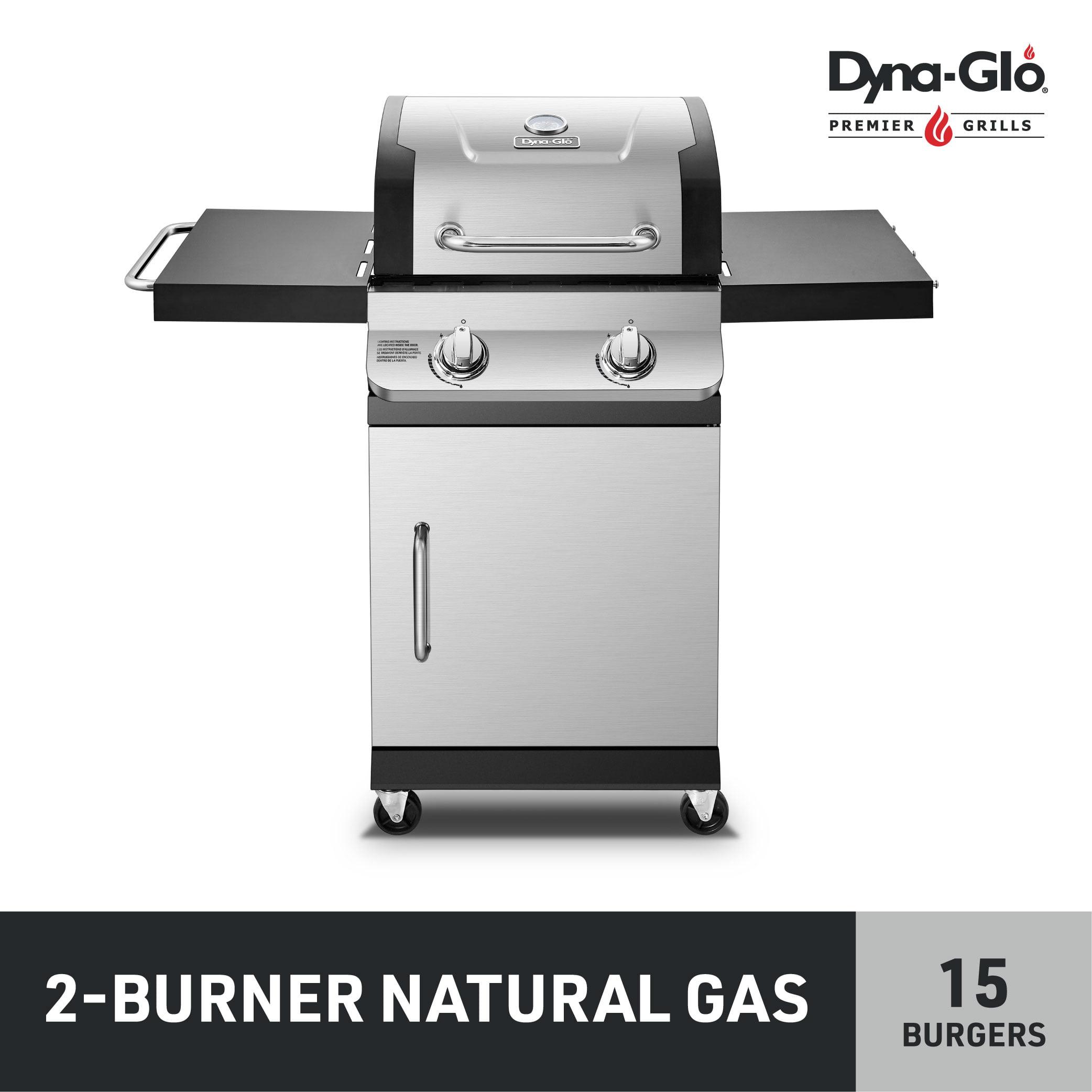 Dyna-Glo Premier 2 Burner Stainless Steel Natural Gas ...