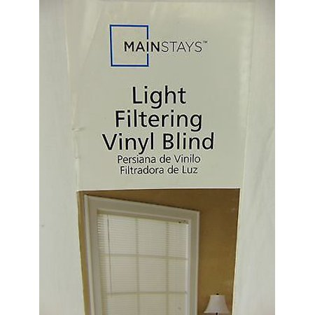 Mainstays light filtering blind white for What does light filtering blinds mean