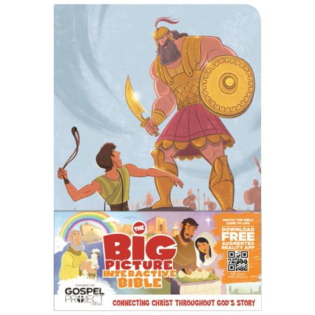 The Big Picture Interactive Bible for Kids, David and Goliath Edition LeatherTouch : Connecting Christ Throughout God's Story