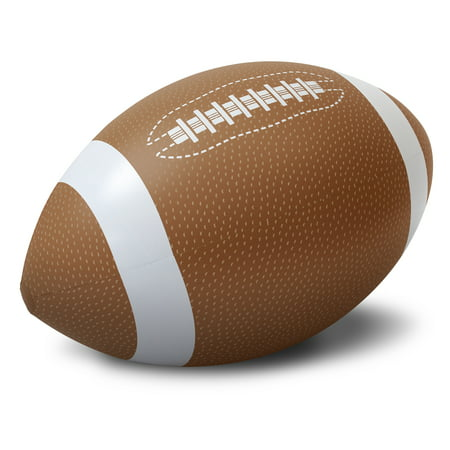 GoFloats 4' Giant Inflatable Football - Made From Premium Raft Grade - Giant Football