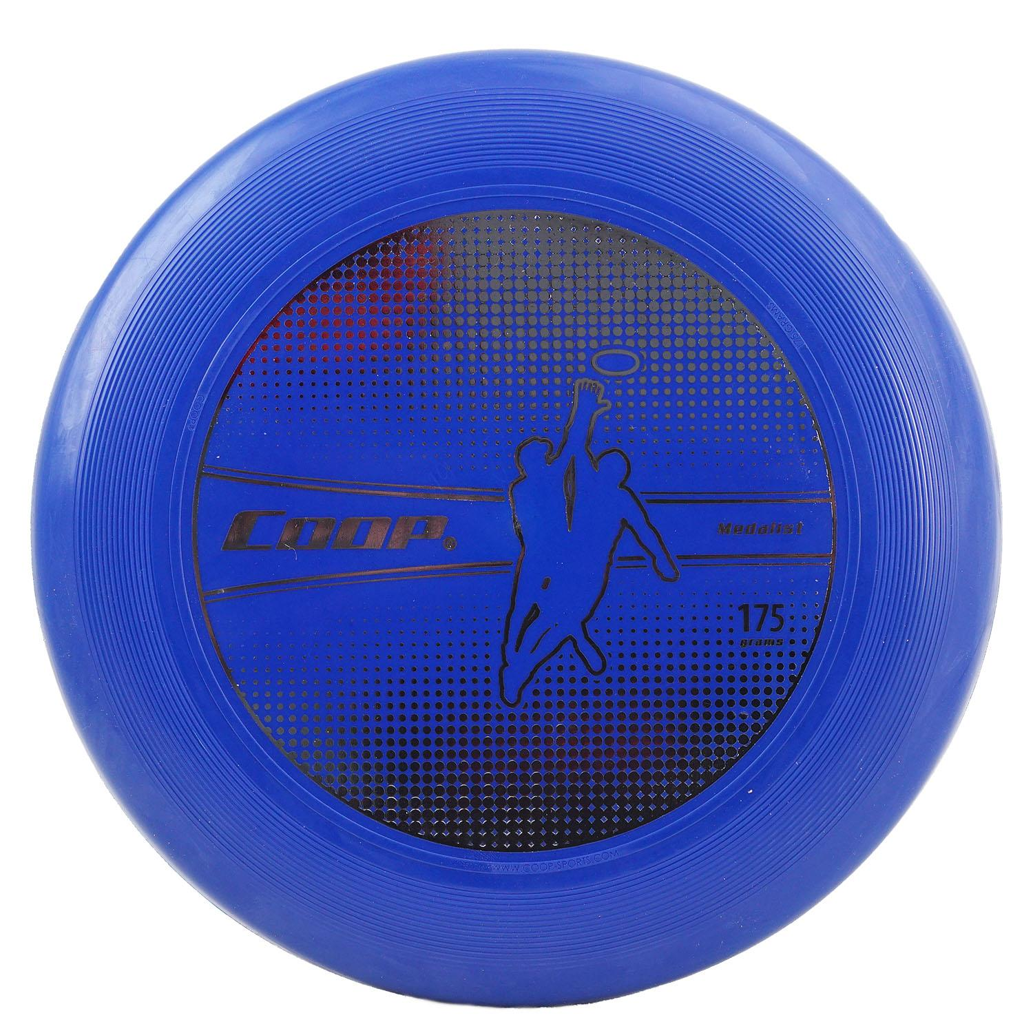 """Swim Way 10.75"""" Medalist 175G Water Resistant Flying Disc - Gold/Blue"""