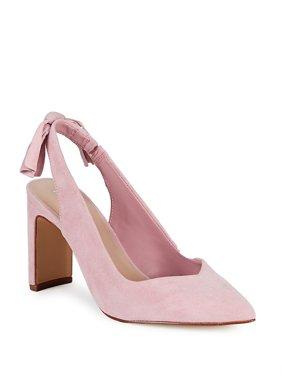 e3e79b88b847e Product Image Suede Knotted Slingback Heels