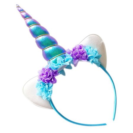 Kapmore - 1 PCS Kapmore Hair Hoop Decorative Cartoon Unicorn Headband  Birthday Party Hairband Party Costume for Kids (Purple) - Walmart.com 5a8e0c4c93c