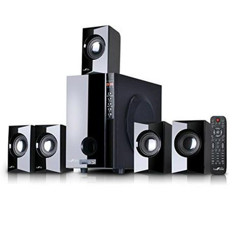 beFree Sound BFS430-2016A 5.1 Channel Surround Sound Bluetooth Speaker System,