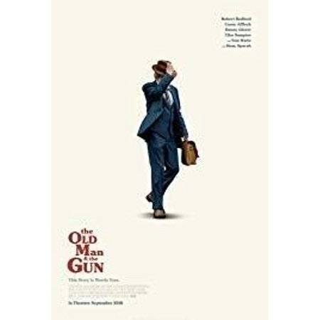 The Old Man and the Gun (DVD) - Bald Old Man