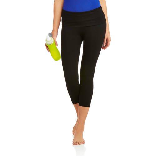 c2af8ad24c916 No Boundaries - Juniors' Skinny Capri Yoga Pants - Walmart.com